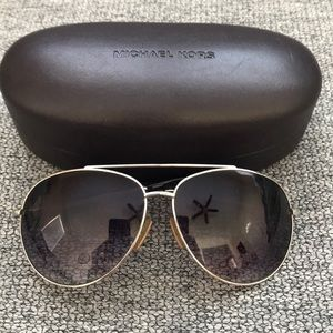 Authentic Michael Kors Aviator Sunglasses